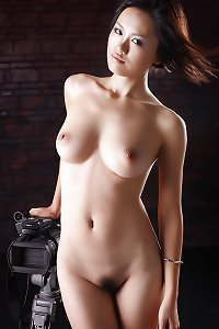 The Beauty of Perfect Asian Body with Nice Tits