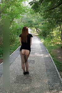 Asian Slut Wife Outside Again